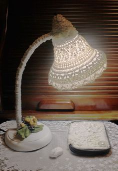 15+ Stunning Crochet Lamps to Brighten Your Home