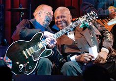 Les Paul and BB King    Les Paul — Musician, inventor, legend