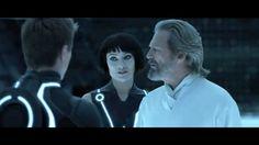 Sam,Quorra, and Flynn,Tron Legacy