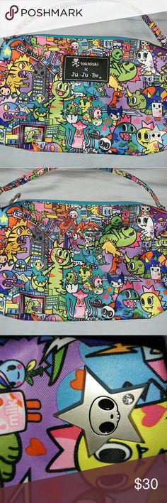 Tokidoki Jujube Kaiju City Quick Very good used condition. Normal corner wear and light star scratches. Still crunchy. Smoke and pet free home. tokidoki Bags Baby Bags