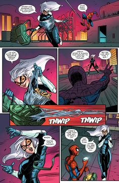 Browse the Marvel Comics issue Marvel's Spider-Man: The Black Cat Strikes Learn where to read it, and check out the comic's cover art, variants, writers, & more! Spiderman Black Cat, Spiderman Girl, Black Cat Marvel, Marvel Dc Comics, Marvel Heroes, Marvel Art, Iron Man Wallpaper, Marvel Wallpaper, Create A Comic