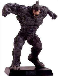 Eaglemoss Marvel Comics Rhino Lead Figurine