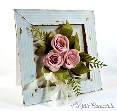 KC MFT Rolled Rose Vintage Frame