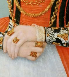 Lucas Cranach the younger -- Portrait of a Woman