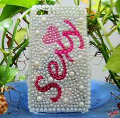 Fashion case /Sexy Crystal White Hard Case for by sevenvsxiao, $18.99