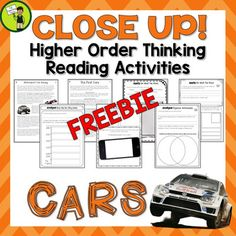 This CARS Reading Resource includes one Grade Four and Five (Year Five and Six) Non-Fiction texts with six engaging text dependent higher order thinking tasks - perfect for reading comprehension!  These link directly to the CCSS and the New Zealand Curriculum.