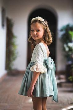 Wedding Dresses For Kids, Wedding With Kids, Little Girl Dresses, Girls Dresses, Flower Girl Dresses, The Dress, Baby Dress, Kids Outfits, Cute Outfits