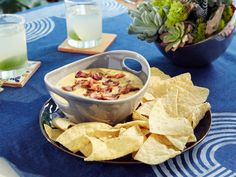 Bacon Queso recipe from Patricia Heaton Parties via Food Network
