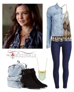 """""""Davina Claire 2x01 - the originals"""" by shadyannon ❤ liked on Polyvore featuring H&M, Yves Saint Laurent, Levi's, AllSaints and ONLY"""