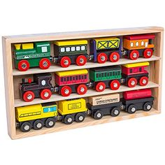12 Pcs Wooden Engines & Train Cars Collection fits Thomas, Brio, Chuggington Orbrium Toys http://www.amazon.com/dp/B005ZWJDBA/ref=cm_sw_r_pi_dp_qXwkwb01BGET2