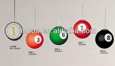 #billiard ball decoration lights for pool bar pool hall , #light, #billiard light