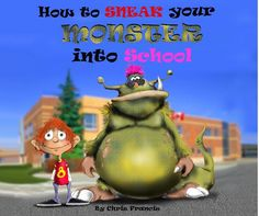 How to Sneak Your Monster into School - Chris Francis - Great for procedural writing! English Resources, Writing Resources, Teaching Writing, Teaching Kindergarten, Student Teaching, Writing Plan, Work On Writing, Writing Ideas, Writing A Book