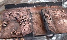 Building Modular Trenches for your gaming boards - Tips & Tutorials - Figurepainters.com Custom Painted Minitures. Warmachine, Hordes, 40k, Malifaux and any other miniture you can think of!