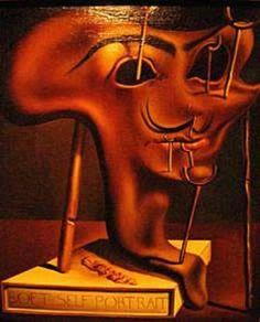 Salvador Dali self portrait