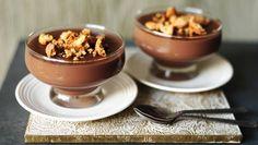 BBC Food - Recipes - Warm chocolate and amaretto pudding