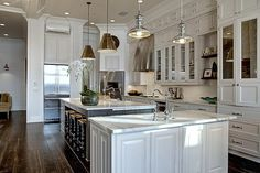 Open-Concept kitchens with islands | kitchen cabinets, gray kitchen island, kitchen sink, kitchen island ...