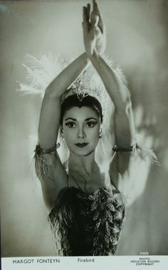 Margot as the Firebird, one of her greatest roles in the 1950s