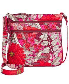 effdc353104c Vera Bradley Triple-Zip Hipster Crossbody 4488147 Handbags   Accessories -  Macy s