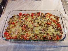 Überbackener Gyrosauflauf  mit Tzatziki, ein sehr leckeres Rezept aus der Kategorie Gemüse. Bewertungen: 7. Durchschnitt: Ø 3,8.