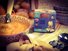 Fishy Dishy is a delicious combination of cod, veggies and potatoes. It is packed with fresh ingredients and is also gluten free! Stage 2 - from 7 months old 7 Months, Baby Food Recipes, Cod, Pear, Oatmeal, Stage, Veggies, Potatoes, Gluten Free