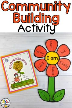 This Flower Craft and Writing Activity is a creative way fort your students to write about character traits and what makes their friends and/or themselves special. This descriptive writing and kindness craft is fun to do after reading the book Chrysanthemum by Kevin Henkes. It is the perfect community building activity for Kindergarten, 1st grade, or 2nd grade students to do at the beginning of the school year. Click on the picture to learn more! #Chrysanthemum #backtoschoolcraft #allaboutme