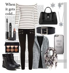 """""""When it gets cold..."""" by cassy-style ❤ liked on Polyvore featuring Dolce&Gabbana, Paige Denim, BERRICLE, Kate Spade, Pieces, Anastasia Beverly Hills, Bottega Veneta, LashFood and Lipstick Queen"""