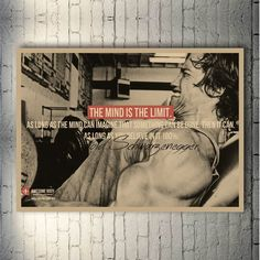 Canvas Wall Art, Canvas Prints, Nordic Art, Type Posters, Arnold Schwarzenegger, Print Poster, Colorful Pictures, Living Room Decor, Bodybuilding
