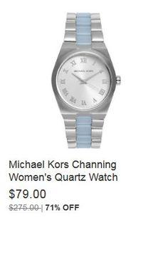 1ea148e19f47 Michael Kors Channing Women s Quartz Watch MK6150