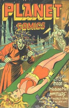Planet Comics (Volume) - Comic Vine