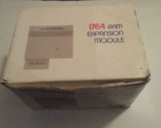 Commodore 64 / 128 REU 1764 cartridge 1764 REM in Original box Ram Expansion Mod #Commodore