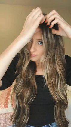 Bun Hairstyles For Long Hair, Girl Hairstyles, Easy And Cute Hairstyles, Hairstyle Hacks, Hairstyles Videos, Hair Up Styles, Medium Hair Styles, Hair Videos, Hair Looks