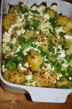 Ruokasurffausta: Rosmariiniset feta-perunat