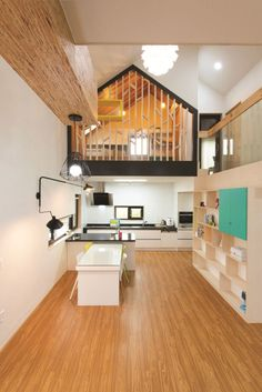 Modern T-Shaped House In South Korea | iDesignArch | Interior ...