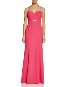 Decode 1.8 Strapless Cutout Gown | Bloomingdales's $189