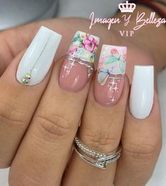 Glow Nails, Cute Acrylic Nails, Make Color, Gorgeous Nails, Manicure And Pedicure, Nail Designs, Lily, Nail Art, Beauty