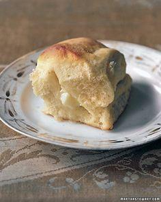 parker house rolls ~ martha stewart