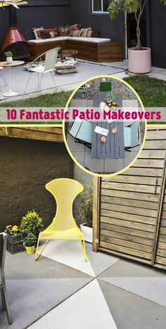 10 Fantastic Patio Makeovers