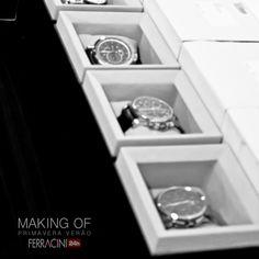 Relógios Ferracini ____ MAKING OF | Lookbook Verão 2014 Ferracini _____#ferracini #verão2014 #collorup #makingof #backstage #relógios