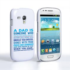 Caseflex Definition of a Dad Quote Samsung Galaxy S3 Mini Case | Mobile Madhouse
