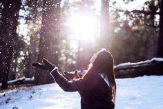 Идеи для фотосессии в зимнем лесу