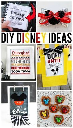 Favors: Mickey pretzel mnms (to put in Mickey pumpkins) disney crafts for adults… Disney World Vacation, Disney Vacations, Disney Trips, Disney Travel, Disney Honeymoon, Disney Dream, Disney Love, Disney Magic, Walt Disney