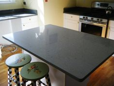 Polished concrete countertops.... another project for the man and I