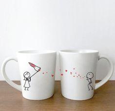 Fancy - Catch My Love Too His & Hers Coffee Mug Set