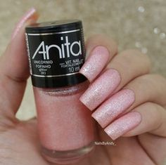 Esmalte Anita - Unicórnio fofinho Gel Manicure At Home, Manicure Colors, Manicure E Pedicure, Nail Colors, Garra, Red And White Nails, Wow Nails, Party Nails, Metallic Nails