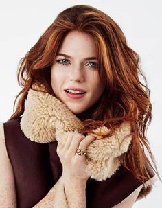 Rose Leslie inspiration for Zoey Quinton
