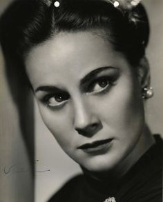 Alida Valli, 1947, publicity for The Paradine Case