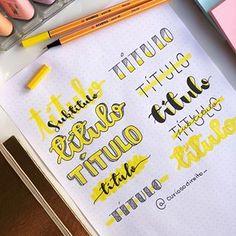 Cute bullet journal doodles by ig Bullet Journal Headers, Journal Fonts, Bullet Journal Writing, Bullet Journal Ideas Pages, Bullet Journal Inspiration, Lettering Tutorial, Lettering Ideas, Stabilo Boss, Journal Aesthetic