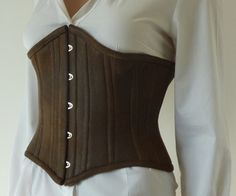 How to Make a Steampunk Corset --Has a great resource list and is pretty basic. Instructable!