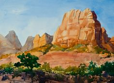 Available Watercolor Paintings Archives - Mike Simpson Art