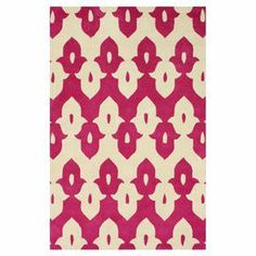 Add a pop of pattern to your living room or den with this hand-tufted wool rug, showcasing a tessellated motif in pink.   Product: RugConstruction Material: WoolColor: PinkFeatures:  Hand-tuftedMade in IndiaTessellated motif Note: Please be aware that actual colors may vary from those shown on your screen. Accent rugs may also not show the entire pattern that the corresponding area rugs have.Cleaning and Care: Spot treat with a mild detergent and water. Professional cleaning is recommended…